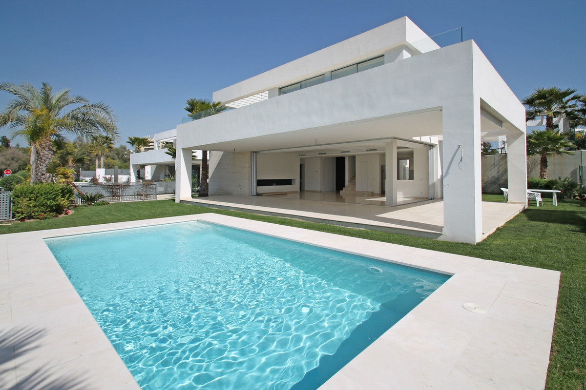 BRAND NEW · SEA VIEWS · Three bedroom contemporary villa in Rio Real, East of Marbella. Modern, styl, Spain