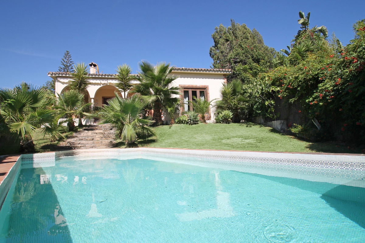 Exciting opportunity on the Golden Mile. West facing independent villa. Only a 5-minute walk to the ,Spain