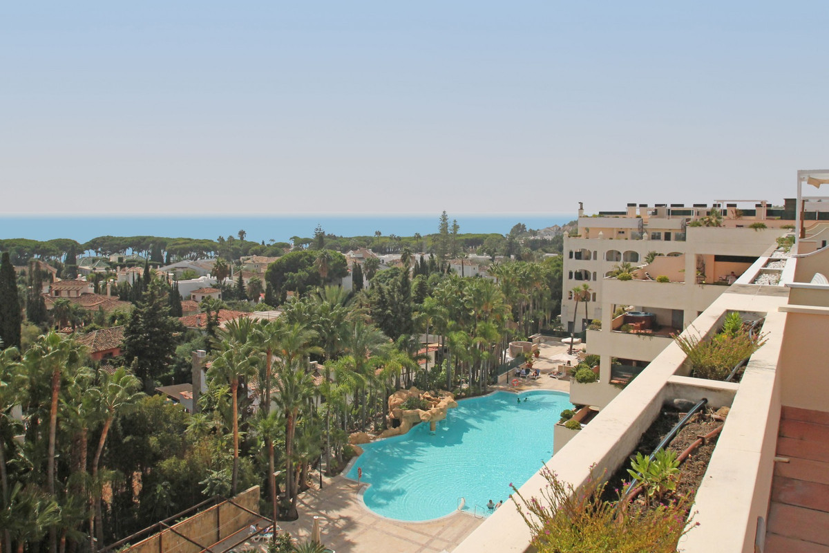 SEA VIEWS · BEST UNIT · South facing three bedroom corner duplex penthouse located in an emblematic ,Spain