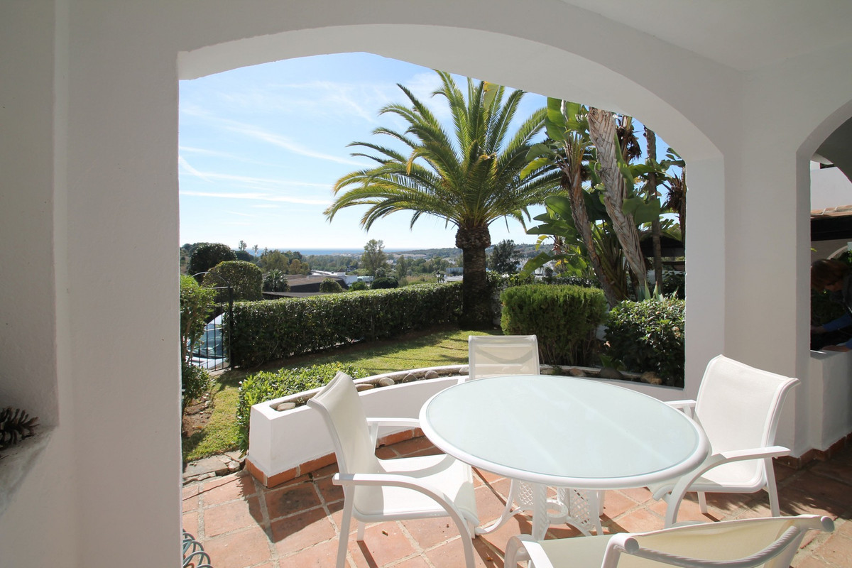 SOUTH FACING · Peaceful two bedroom ground floor apartment with a lovely private garden and sea view,Spain