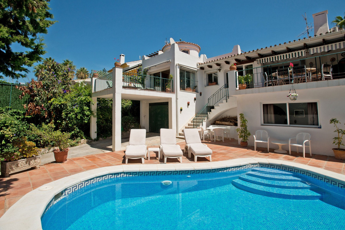 South-West facing three bedroom villa including a self-contained one bedroom apartment plus a tower,,Spain
