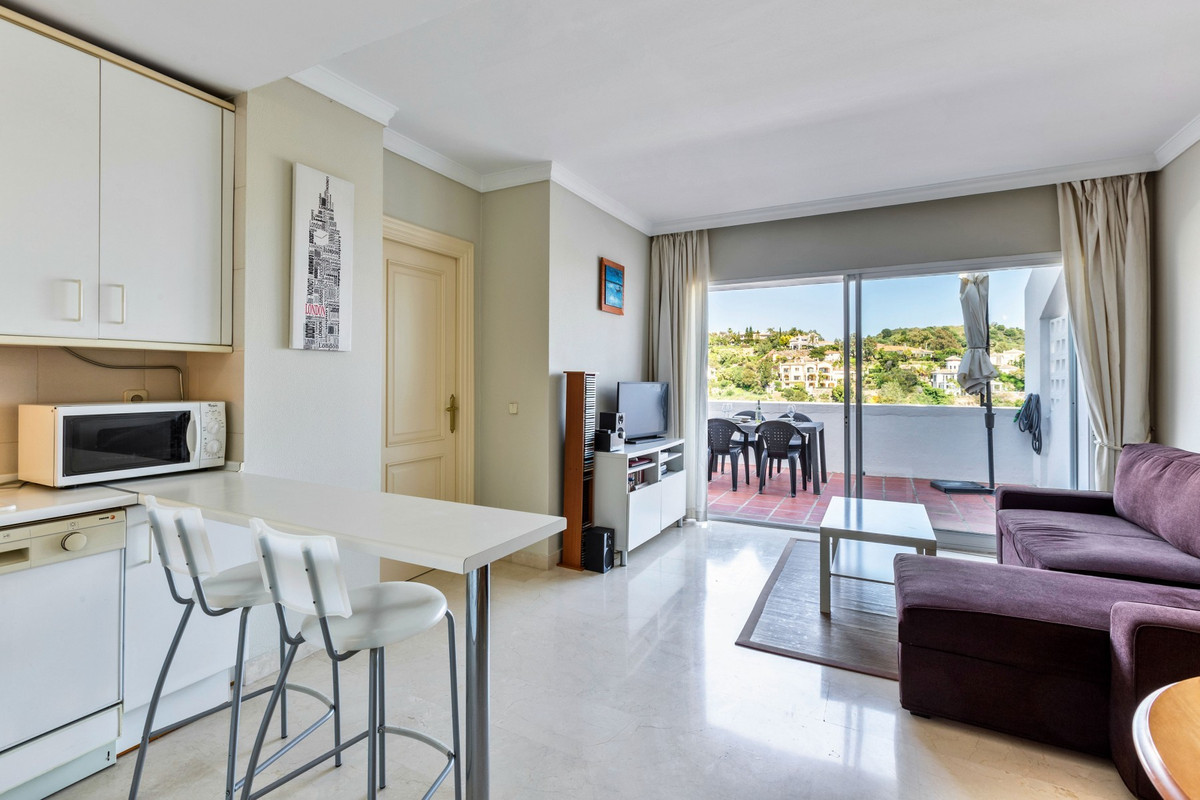 South-East facing one bedroom apartment situated in the secure complex of El Mirador, within the bea,Spain