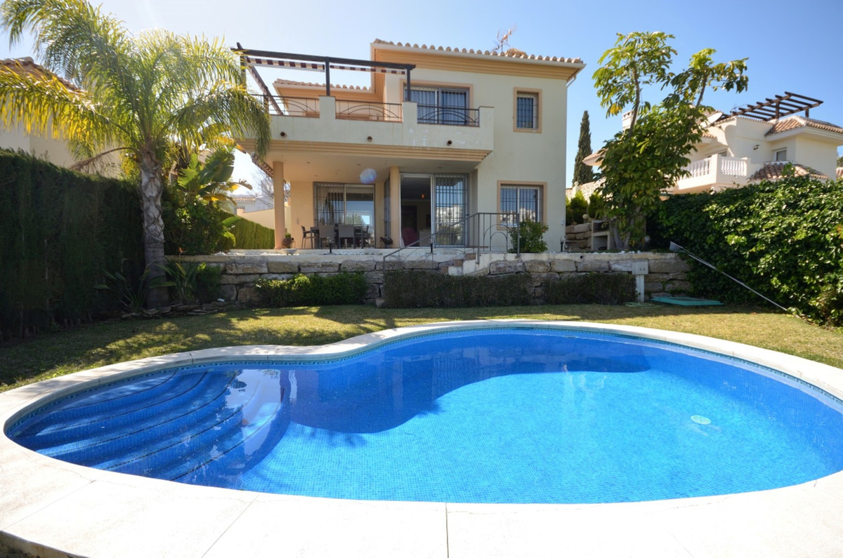 Amazing villa with panoramic sea views in excellent location facing west and next to the golf course,Spain