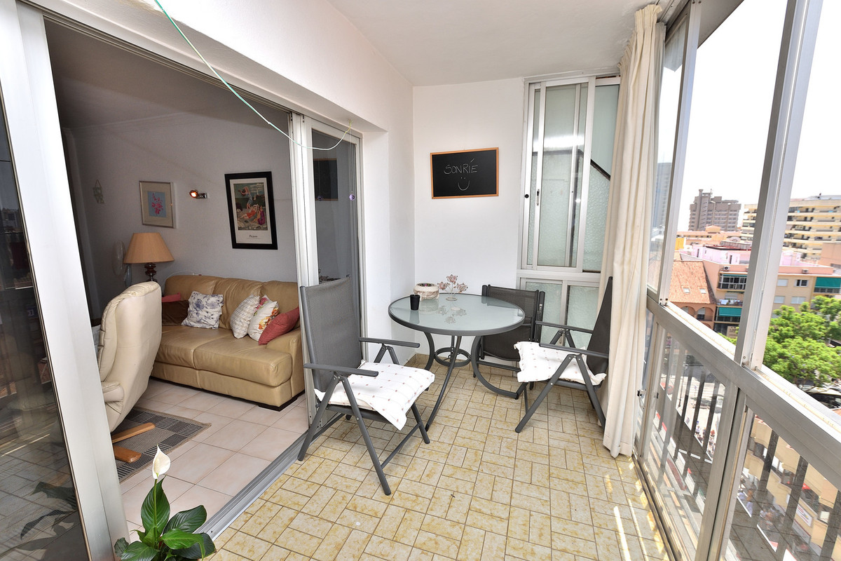 This apartment is located right in the heart of the city centre of Fuengirola, on the 8th floor with,Spain