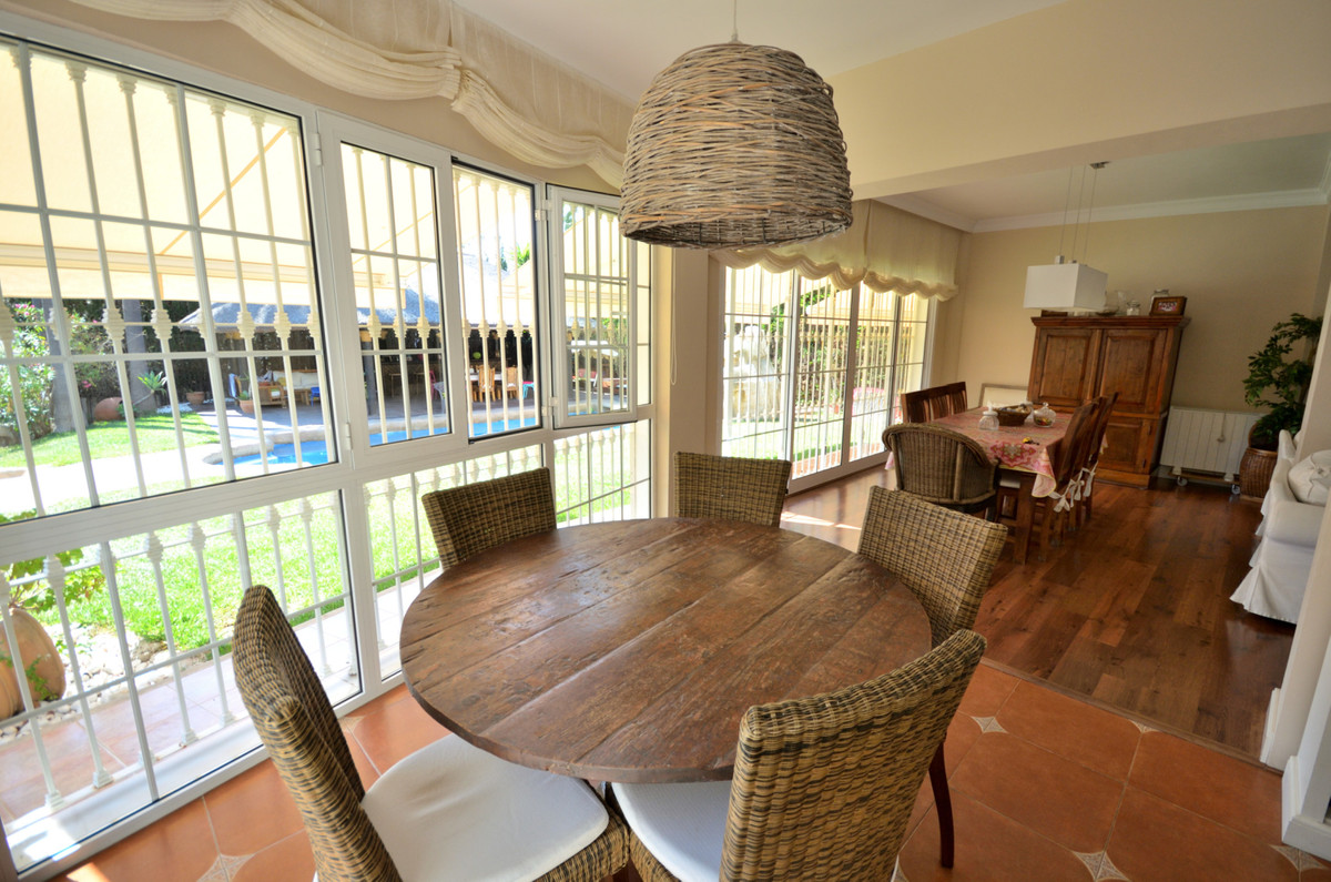 Superb detached villa in Mijas Golf. This 4 bedroom villa is very well built with a large live in sp,Spain