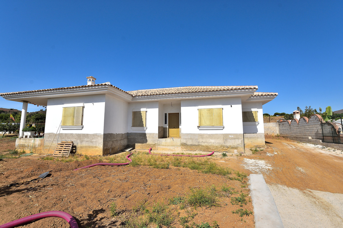 Detached villa next to La Cala Golf resort . Set in a large plot facing southwest with magnificent m, Spain