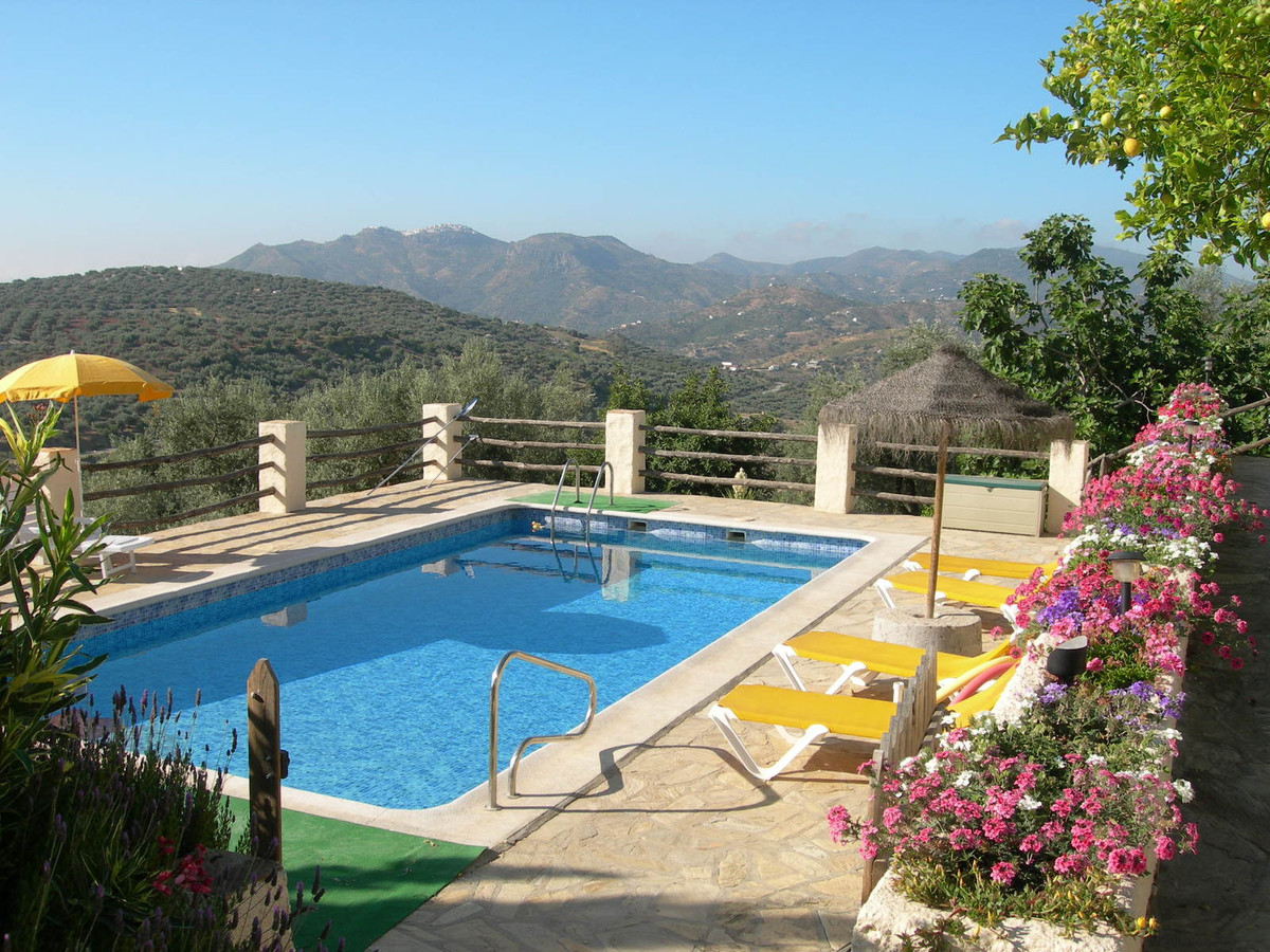 This property comprises of two houses (The Farmahouse & The Millhouse) built on a plot of 4000sq,Spain