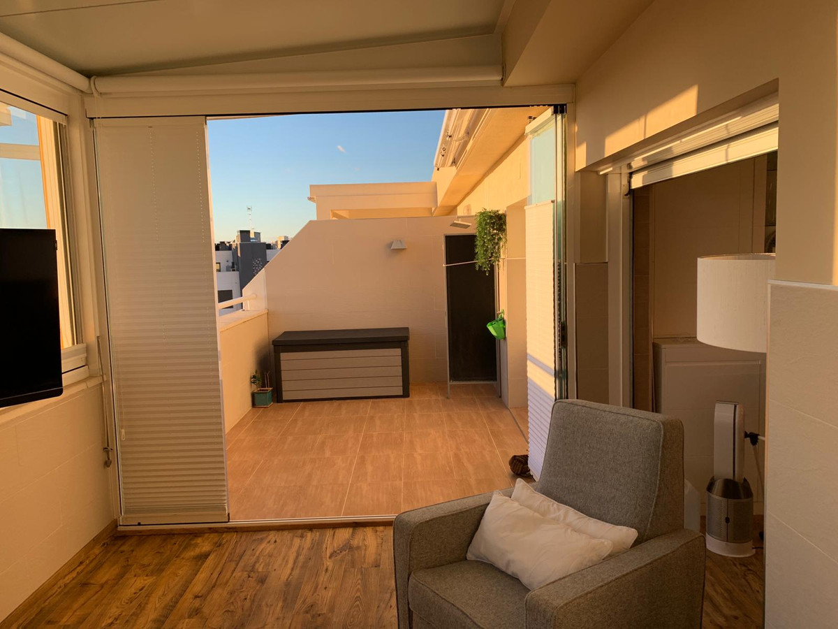 Spectacular PENTHOUSE in Playamar-La Colina with 2 bedrooms + study room, with wardrobes, 2 full bat,Spain