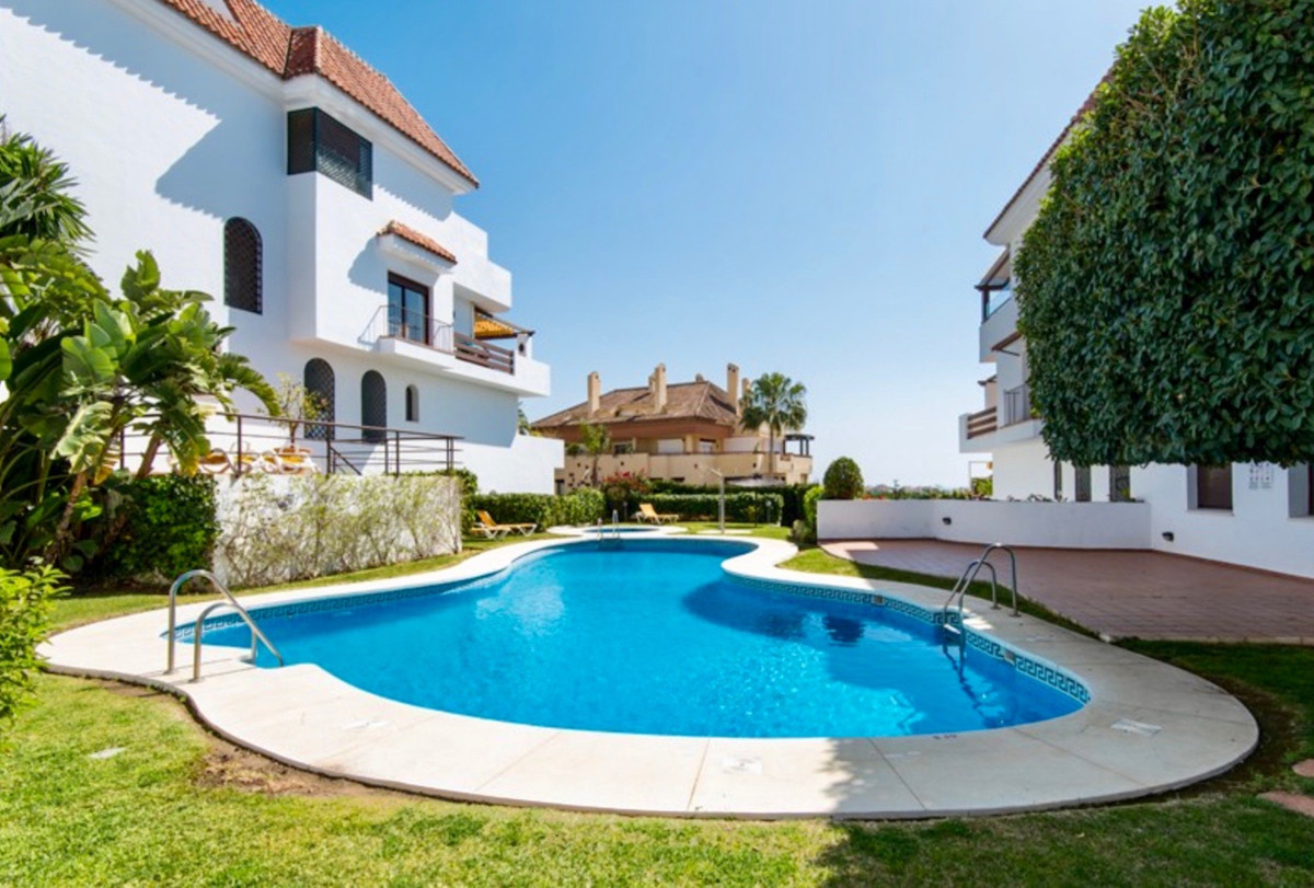 This beautiful duplex apartment is located in one of the most exclusive areas of Marbella, practical, Spain