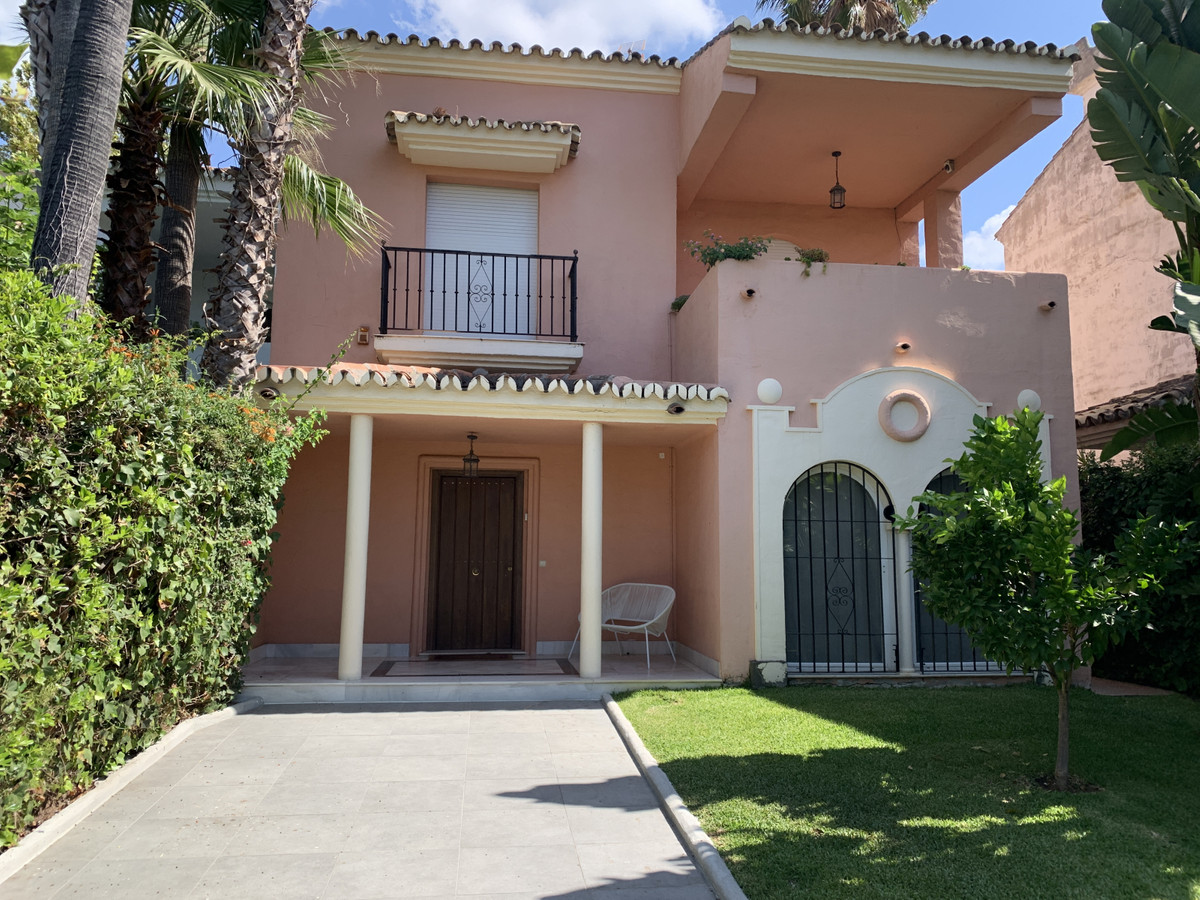 Exclusive townhouse, just 100 meters from the beach and 300 meters from Puerto Banus, located in one,Spain
