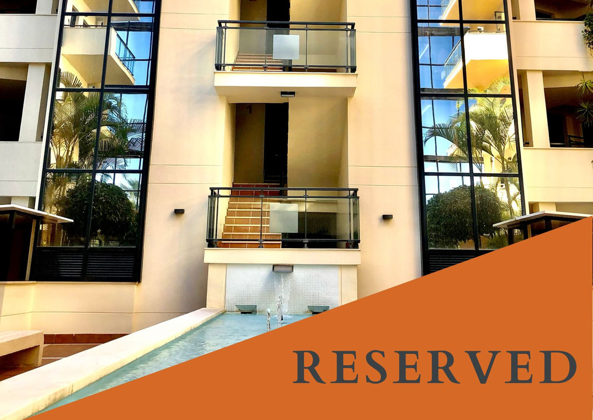 **RESERVED** Unfurnished 2 bedroom apartment in a modern beachside community just few steps from the Spain