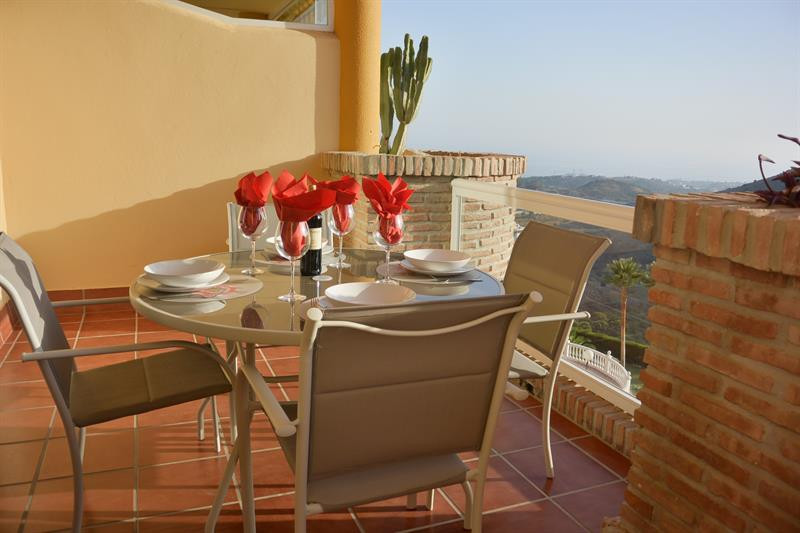 A large two bedroom two bathroom elevated ground floor apartment located in a well established commu,Spain