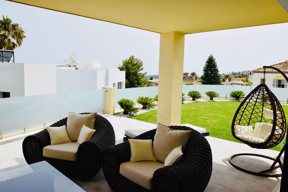 A wonderful recently renovated semi-detached Townhouse with sensational views of the coast.  This tr, Spain
