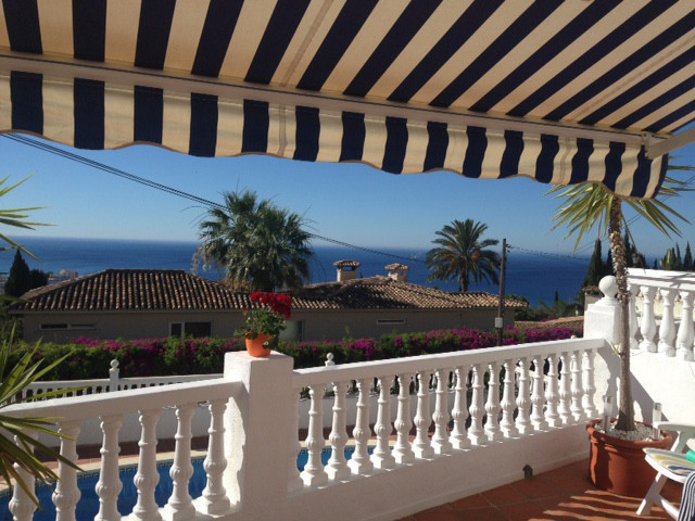 townhouse with great views for sale in Benalmadena Pueblo