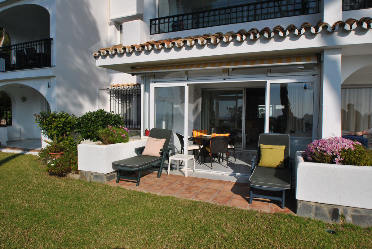 A lovely ground floor apartment in the popular Miraflores resort in Mijas Costa.  The apartment has , Spain