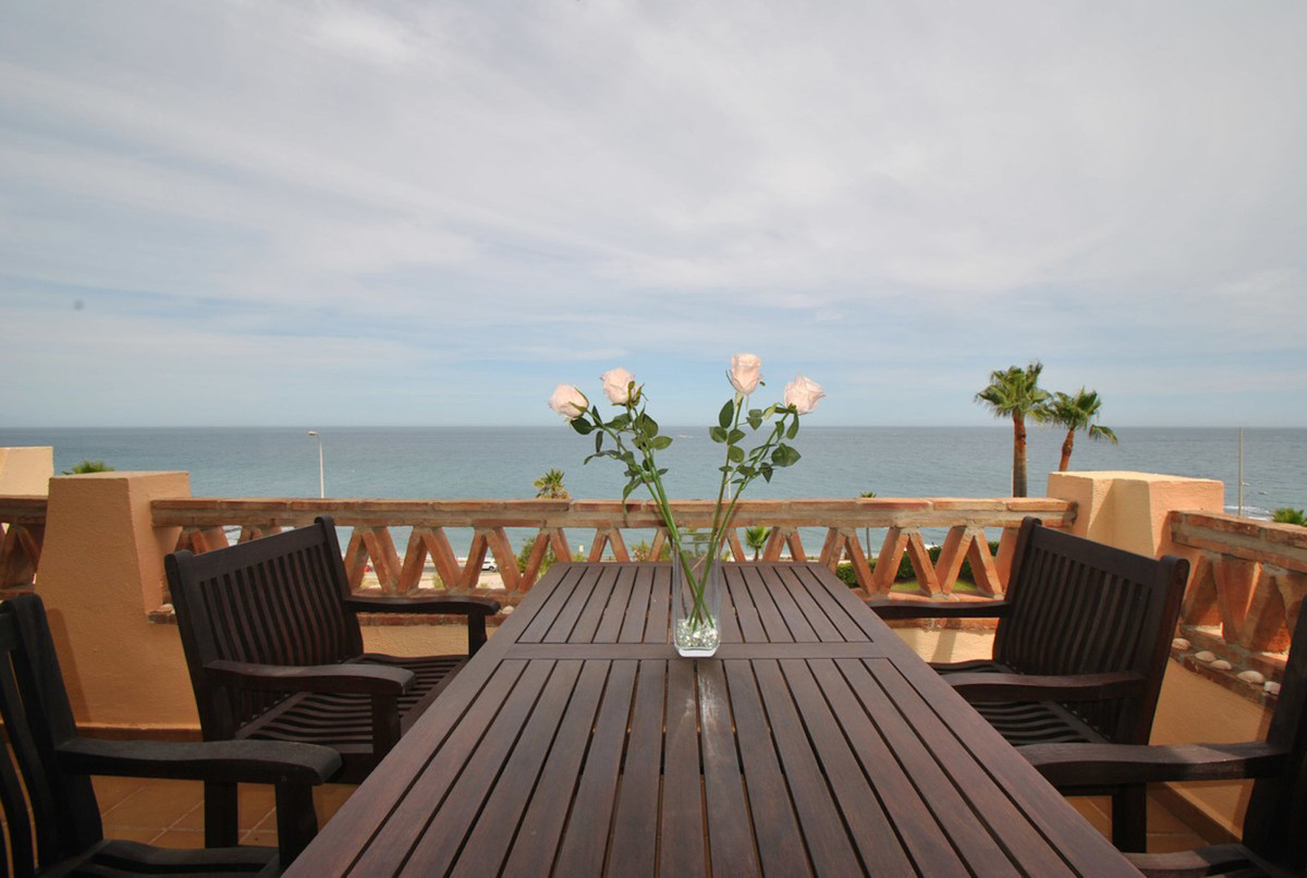 A simply stunning four bedroom penthouse apartment in Mijas Costa, just steps to the beach, with bre, Spain
