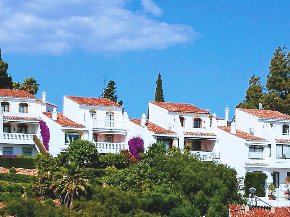 A large five bedroom house in a small development of just nine properties in Calahonda, Mijas Costa., Spain
