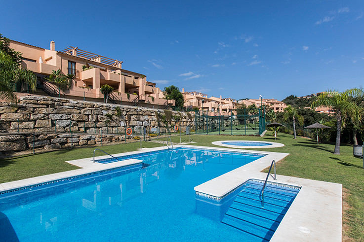 Beautiful groundfloor apartment in Elviria Alta in the complex Marbella Hill View consisting of only,Spain