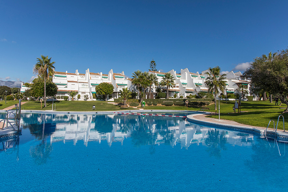 Apartment with sea views in Lunamar, East Marbella, offering two bedrooms, one bathroom, bright livi,Spain