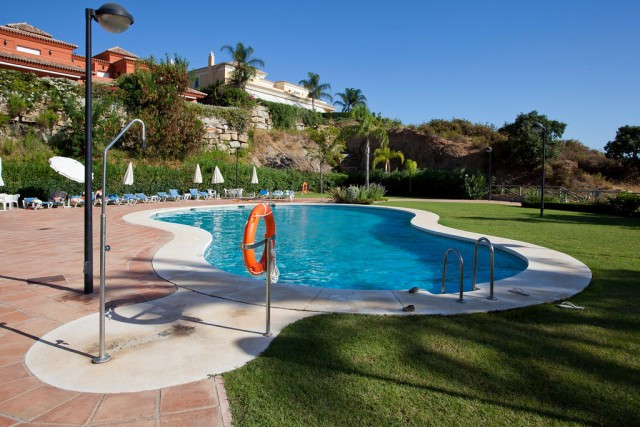 Semi detached villa in Santa Clara Golf in East Marbella. The house is located in a gated complex wi, Spain