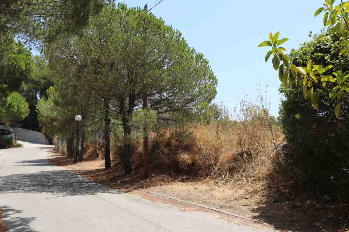 Large east and south facing building plot in a peaceful area of Elviria. Close to amenities and the ,Spain