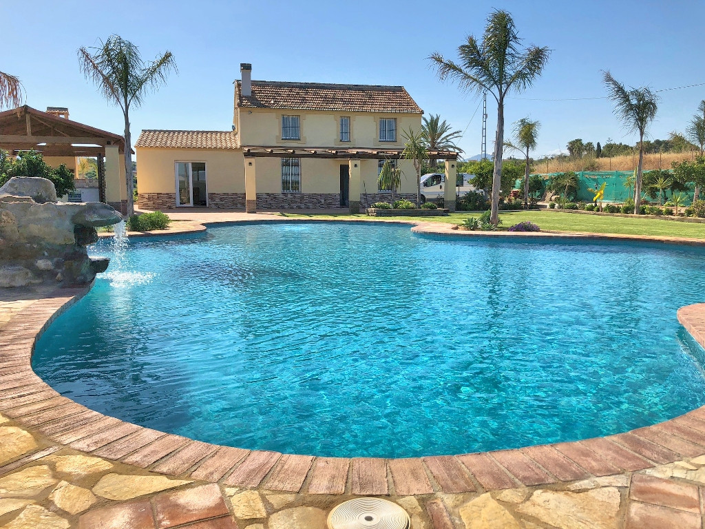 This spectacular recently reformed Finca is only 200 meters from the main road on a very good track.,Spain