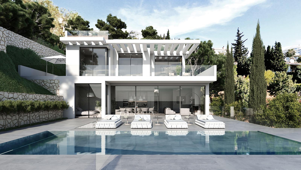 THE HOUSE  Impressive modern style villa, with certain important aspects offering all the necessary ,Spain