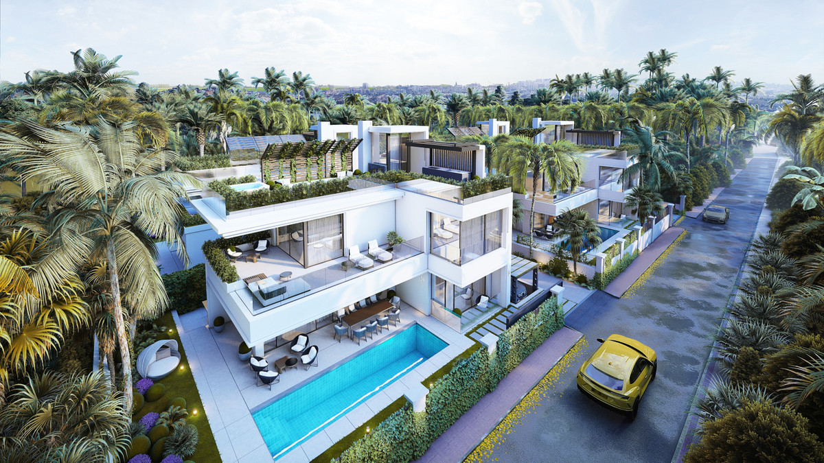 These marvelous new modern villas for sale are located in one of the most luxurious residential area,Spain