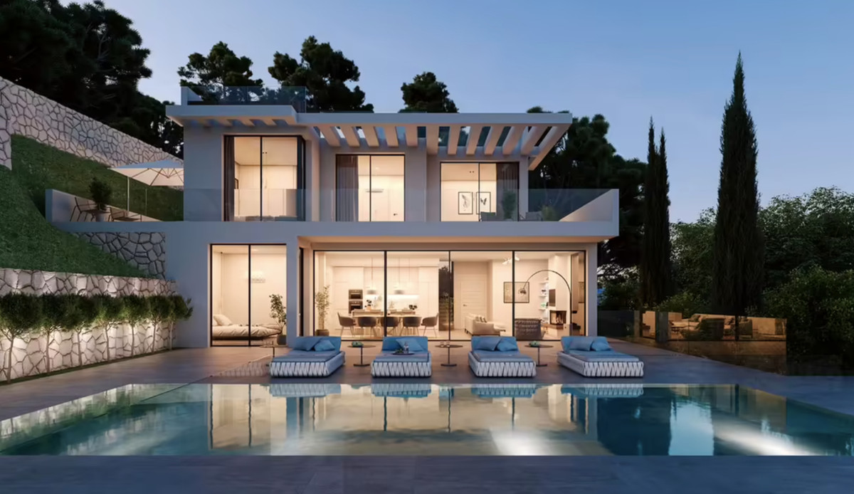 Impressive modern style villa, with certain important aspects offering all the necessary necessities,Spain