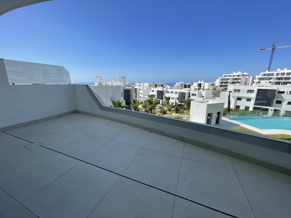 Magnificent new built, contemporary apartment with beautiful views to the sea pool and garden area. ,Spain