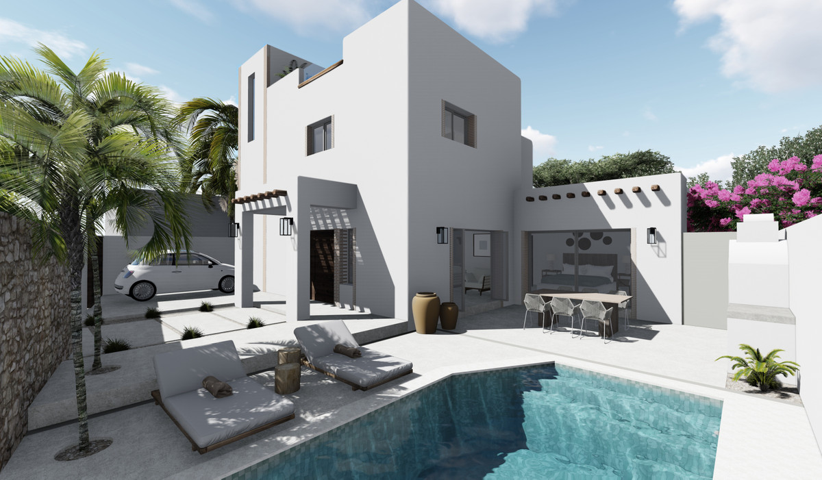 Villa Ibiza is located on a quiet street in one of Marbella's hottest area – Linda Vista, San P, Spain