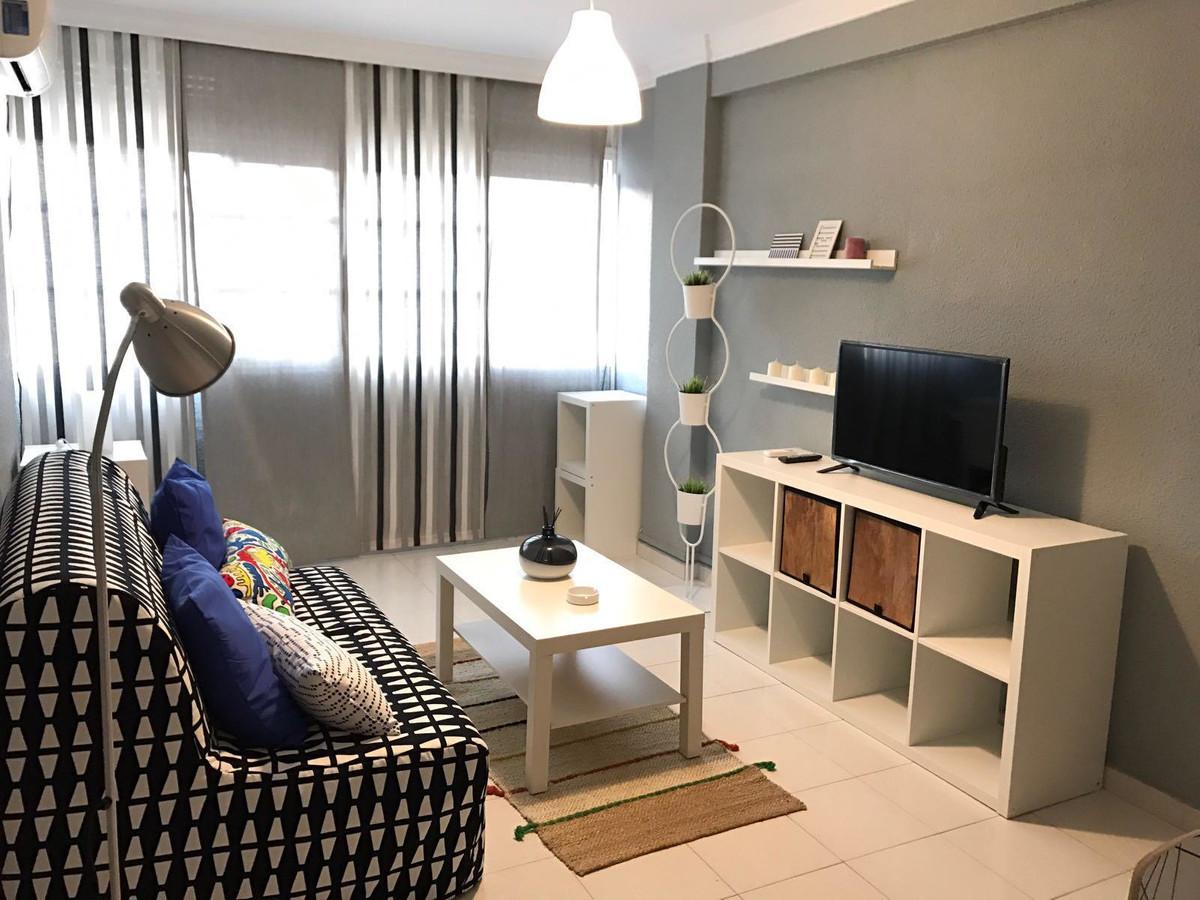 Middle Floor Apartment, Malaga city, Costa del Sol. 2.5 Bedrooms, 1 Bathroom, Built 66 m².  Conditio,Spain