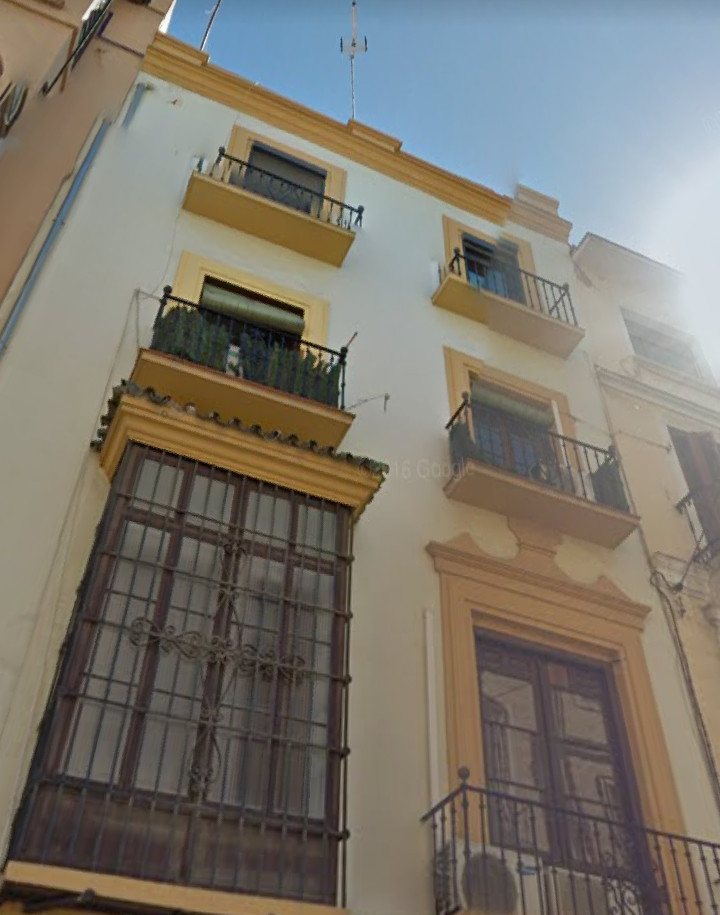 Middle Floor Apartment, Malaga historic Centre near plaza de la merced, Costa del Sol. 2.5 Bedrooms, Spain