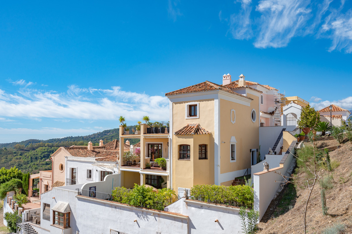Charming Townhouse at La Heredia de Monte Mayor/Marbella Club Resort built in Andalusian style on 3 ,Spain