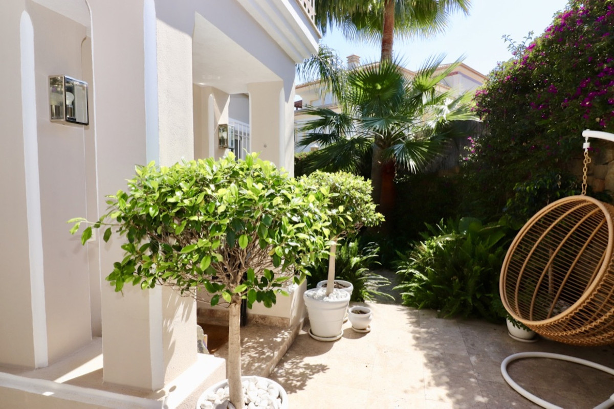 """""""Beautiful new refurbished Townhouse with amazing view at the Marbella Hill Club. On the ground,Spain"""