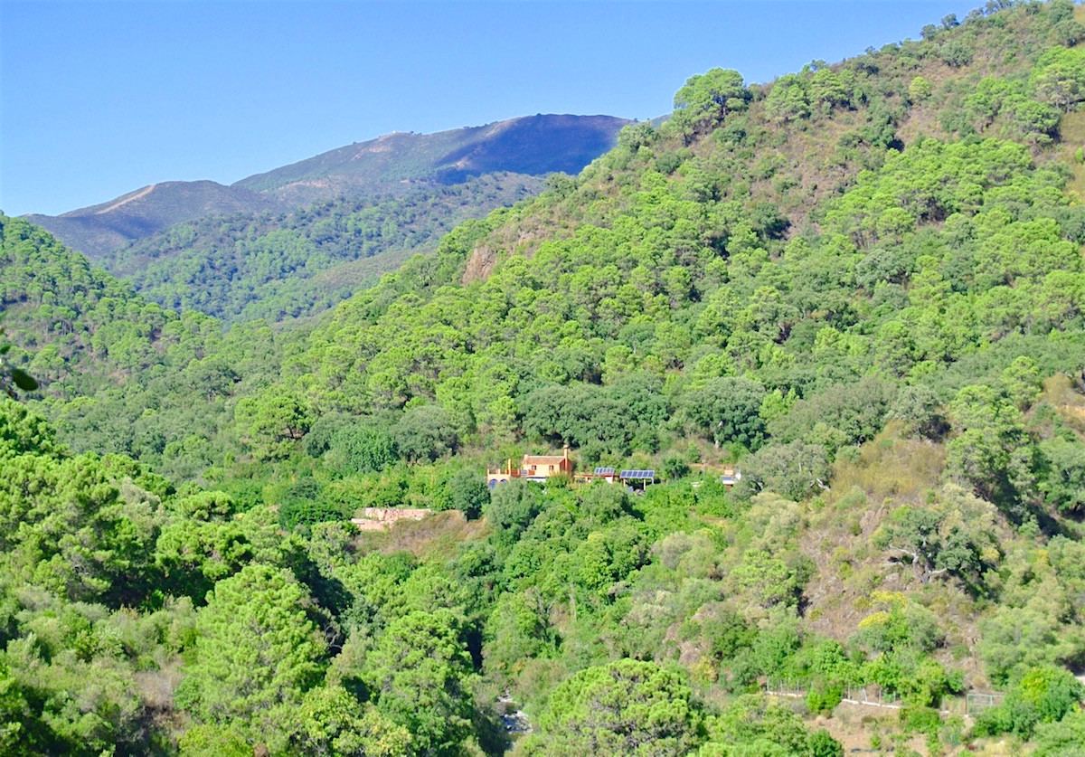Magnificent finca with spectacular views in the Parque Nacional de Las Nieves, Istan.  For the natur,Spain