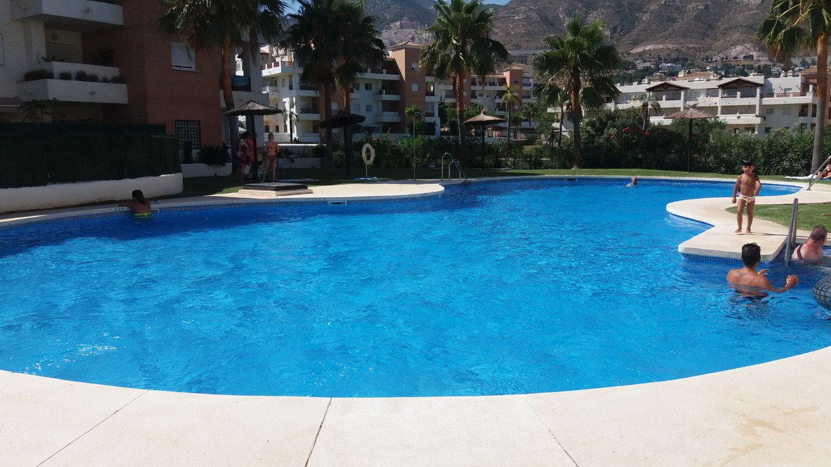 """Golf and Beach in Benalmadena.  Distribution: entrance hall with access to the separate lounge, Spain"