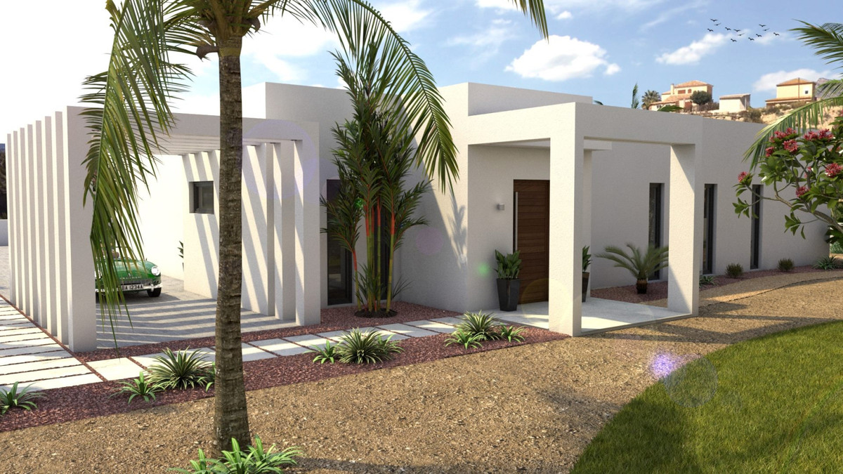 Detached Villa, Busot, Costa Blanca. 3 Bedrooms, 3 Bathrooms, Built 182 m², Terrace 50 m&am, Spain