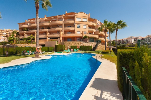 ( No Lift ) .This beautifully presented penthouse is located in the heart of a popular urbanisation ,Spain