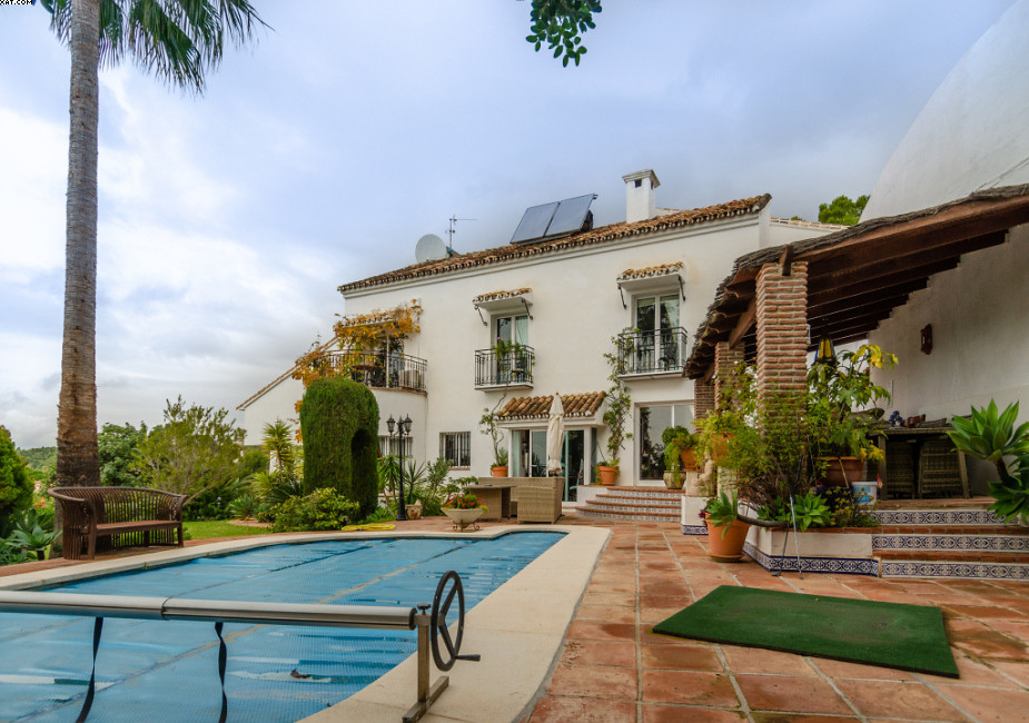 Only few minutes' drive to the quaint village of Mijas. A HOUSE WITH THE VIEW OR A VIEW WITH TH,Spain