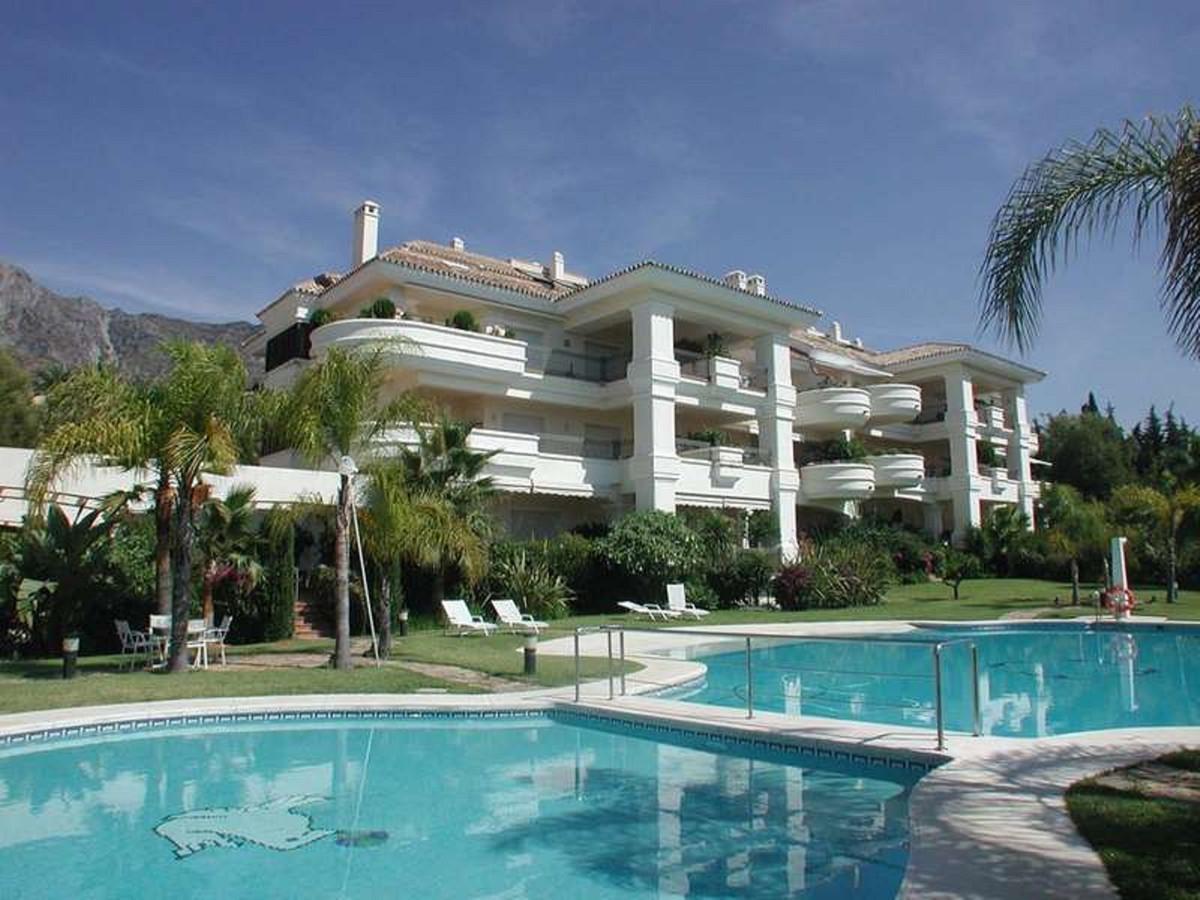 Marbella Banus Apartamento Planta Baja en Venta en The Golden Mile – R3600110