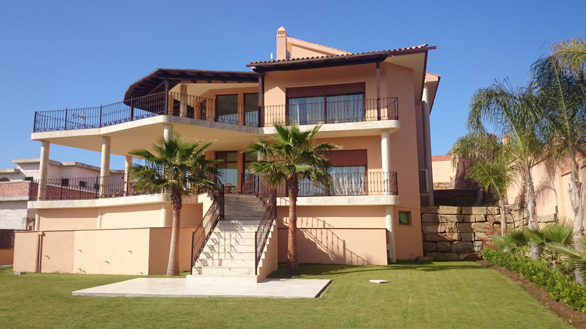 Front line golf , Next to Holtel Villa Padierna Detached Villa, Los Flamingos, Costa del Sol. Built , Spain