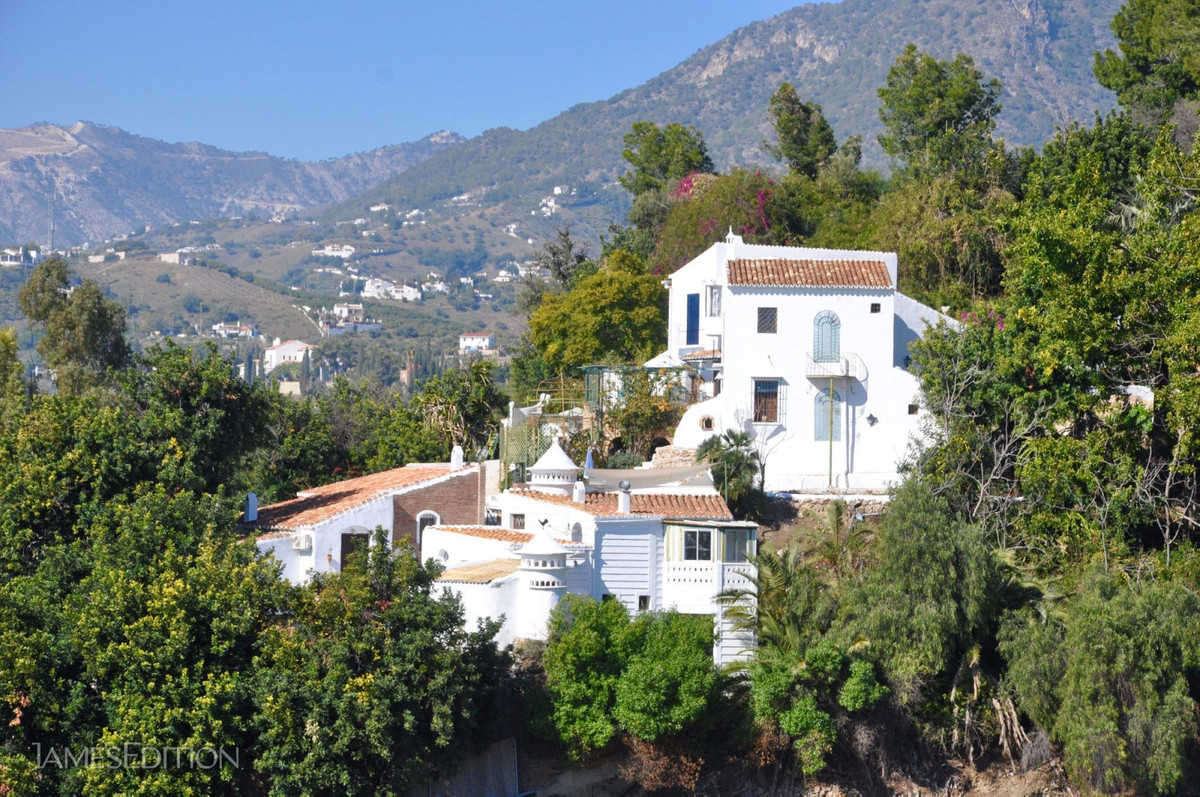 """Cortijo La Perrinda"" was built by the first expatriate in Frigiliana, an English actress  Spain"