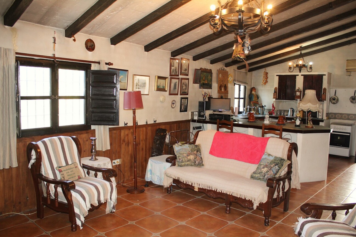 Beautiful country house with a rustic style and full of charm. With wooden windows, shutters, wood b, Spain