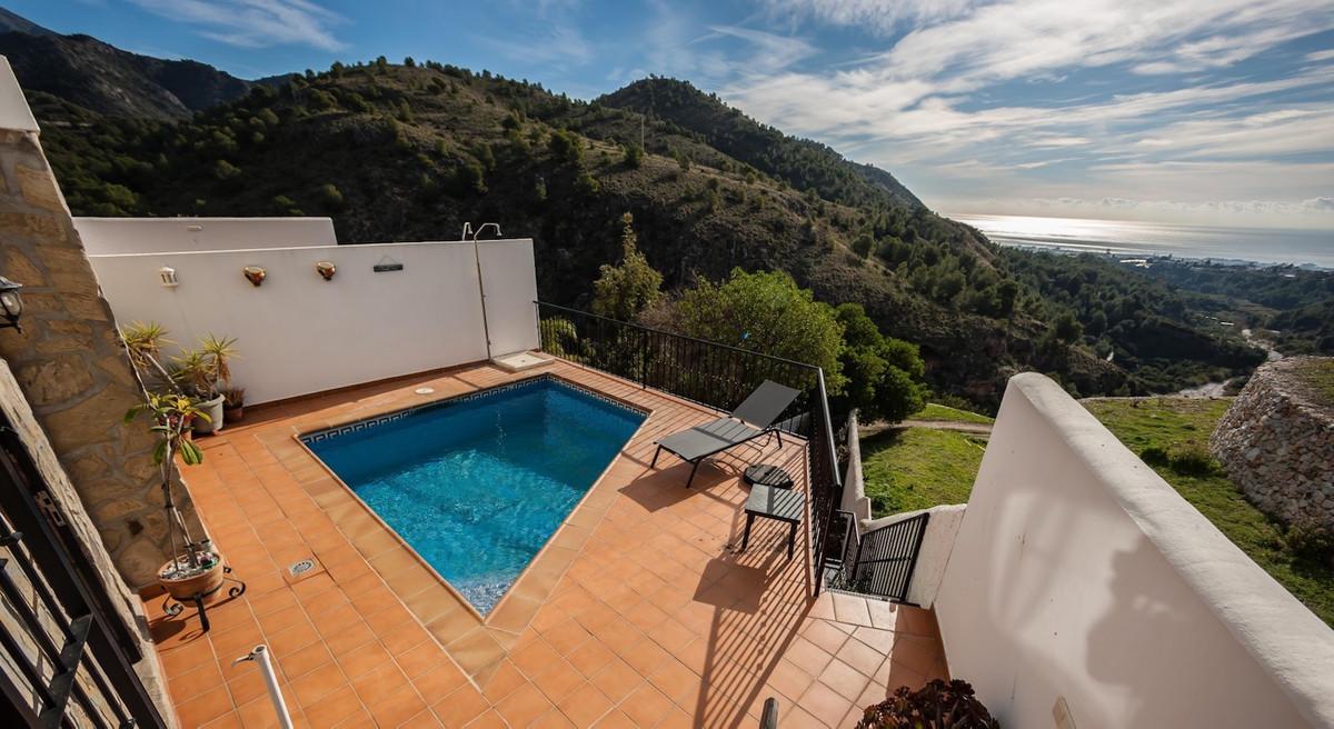 Ref:R3591829 Villa - Semi Detached For Sale in Frigiliana