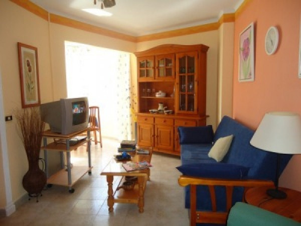 South facing, one bedroom apartment located on the fifth floor, close to the Promenade on Torrox Cos, Spain