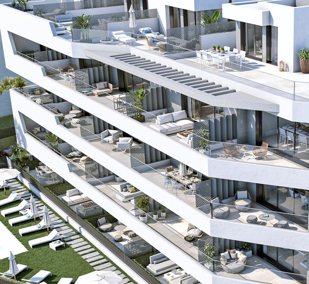 SEALINE HOMES is an exclusive project located at the beachfront in Torrox-Costa (Costa del Sol), whe Spain