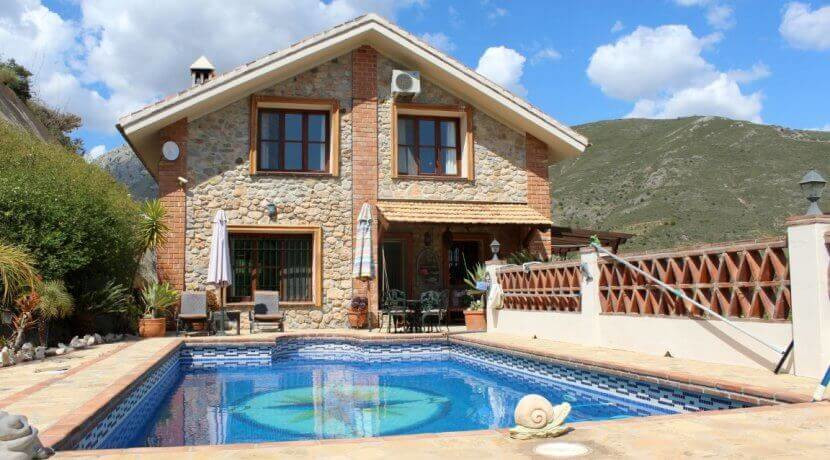 Unique northern Spanish stone house in the beautiful valley of Alcaucin. Built on a large useable pl,Spain