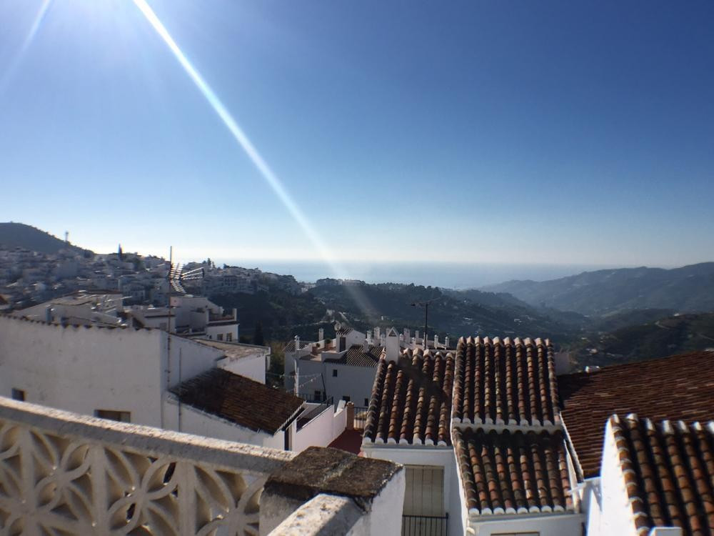 Village house situated in the heart of Frigiliana. The property is distributed over three floors and,Spain