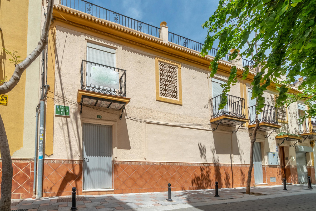 Plot for sale in Los Boliches only two streets from the beach. There is two options for use: First o, Spain